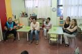 Clase abierta de inglés en la sala de Antonella 32