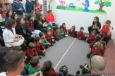 Clase abierta de inglés en sala de 3 años 6