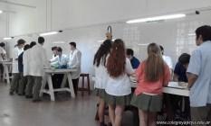 Clase práctica en Anatomía Humana 1