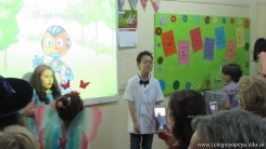 Expo de inglés de 2do y 3er grado 11