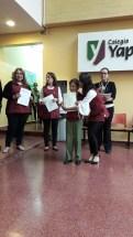 Entrega de certificados YLE primaria 2