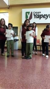 Entrega de certificados YLE primaria 20