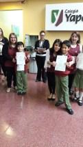 Entrega de certificados YLE primaria 30