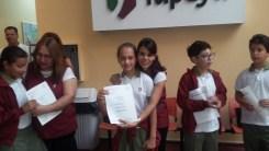Entrega de certificados YLE primaria 58