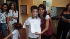 Entrega de certificados YLE primaria 71
