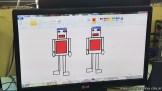 Dibujando robots 36