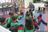 Visita de sala de 4 a la biblioteca 5