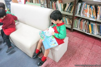 Visita de sala de 4 a la biblioteca 9