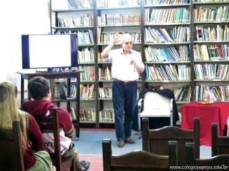 Visita del Dr. Juan José Cruces 1