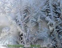 cristales de hielo