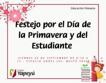 Festejo por el Día de la Primavera y del Estudiante
