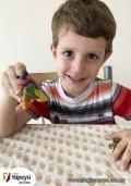 Niños trabajando en casa - Jardín (6)