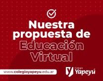 Propuesta de Ed. Virtual Yapeyú
