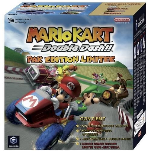 pack gamecube mario kart