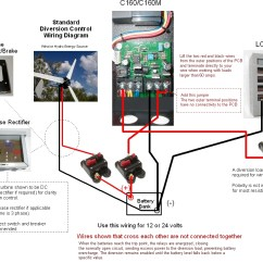3 Phase Wind Generator Wiring Diagram Human Digestive Tract Coleman Air 160a Amp Solar Diversion Charge Load