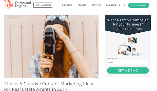 5 Creative Content Marketing Ideas For Real Estate Agents In 2017