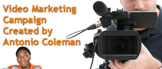 Video Marketing Campaign Created by Antonio Coleman