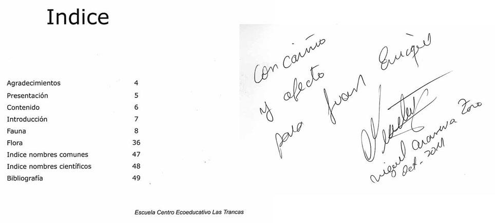 Manual de Campo Biodiversidad Las Trancas (Pinto, Ñuble