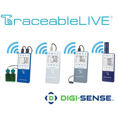 TraceableLIVE NIST-Traceable Remote Monitoring Temperature Loggers