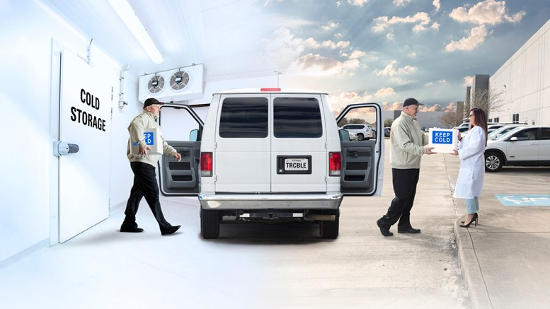 Van Sample Cold Storage and Transportation