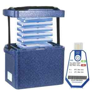 Transport Kit and Traceable Temperature Data Logger Bundle Transport Container