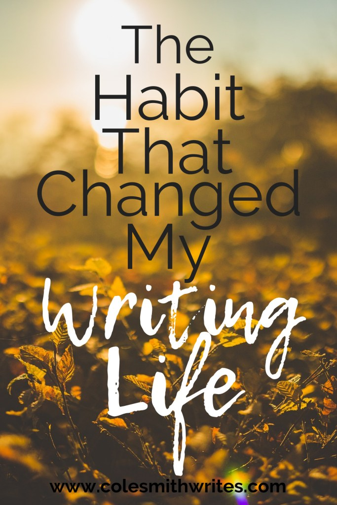 I resisted for so long, but it's the habit that changed my writing life!
