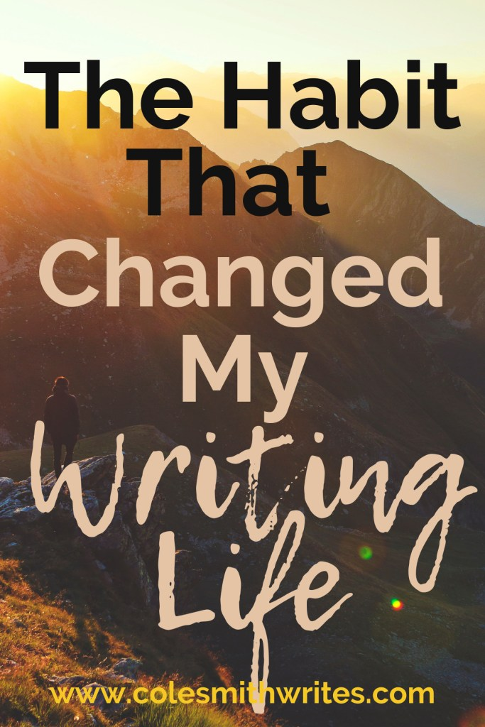 Want to know the single habit that changed my writing life? | #indieauthors #indiepublishing #motivation #inspiration #writingtips #fiction #writinghelp #writingadvice #writerproblems #writers #authors #readers #novel #nonfiction #resolutions #planner #productivity #miraclemorning #tips #tricks #selfpublishing #selfpub #creatives #creativeentrepreneur #creativity #creativeinspiration #motivation #inspiration #habits #help