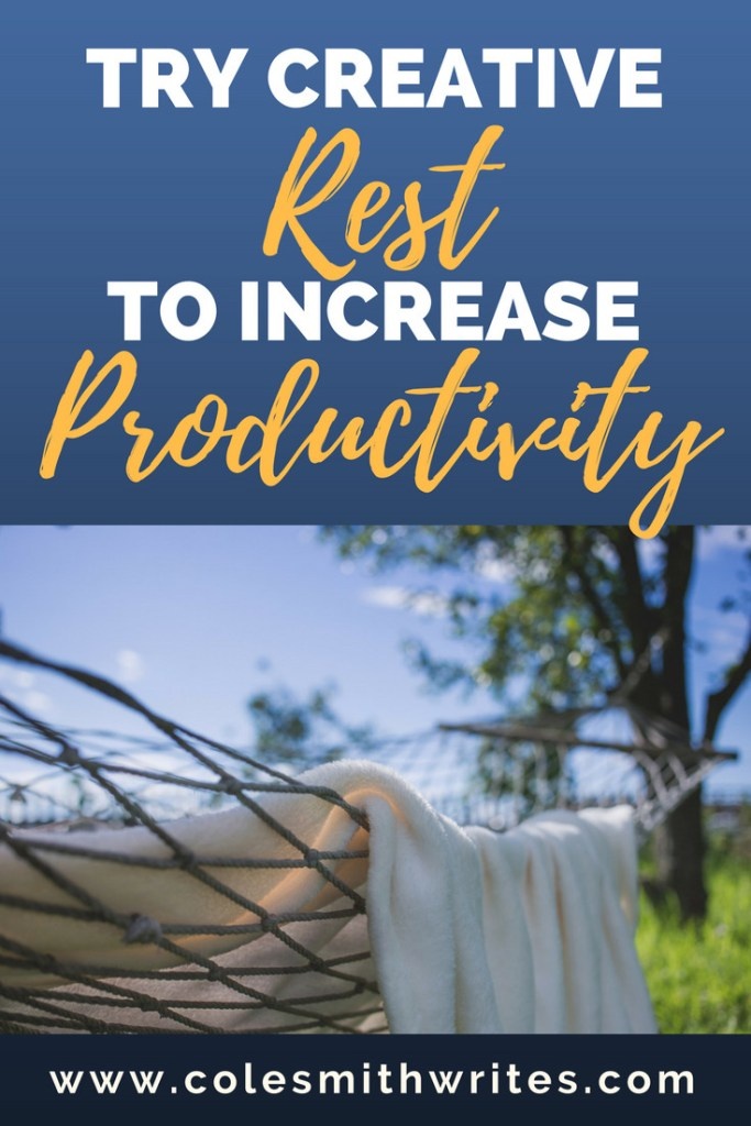 Are you dealing with burnout? Try creative rest! Boost productivity and lower stress.