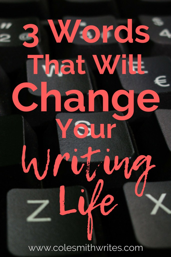 3 words changed my #writinglife and helped me find the courage to face my doubts and achieve my goals. (They'll help you, too.) #writersblock #writinginspiration #productivity #authors #writers #writinghelp #writingtips #fiction #nonfiction #westerns #doitscared #westernwritersofamerica #amreading #amwriting #indieauthors #selfpublishing #writersworkshop #writingmotivation #creativity #creativeoverwhelm #indiepublishing #writinginspiration #writeyourbook #writersaesthetic #changeyourlife #creativityprompts