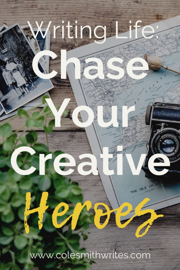 Ever thought about tracking down your inspirations? Here's how to chase your creative heroes: