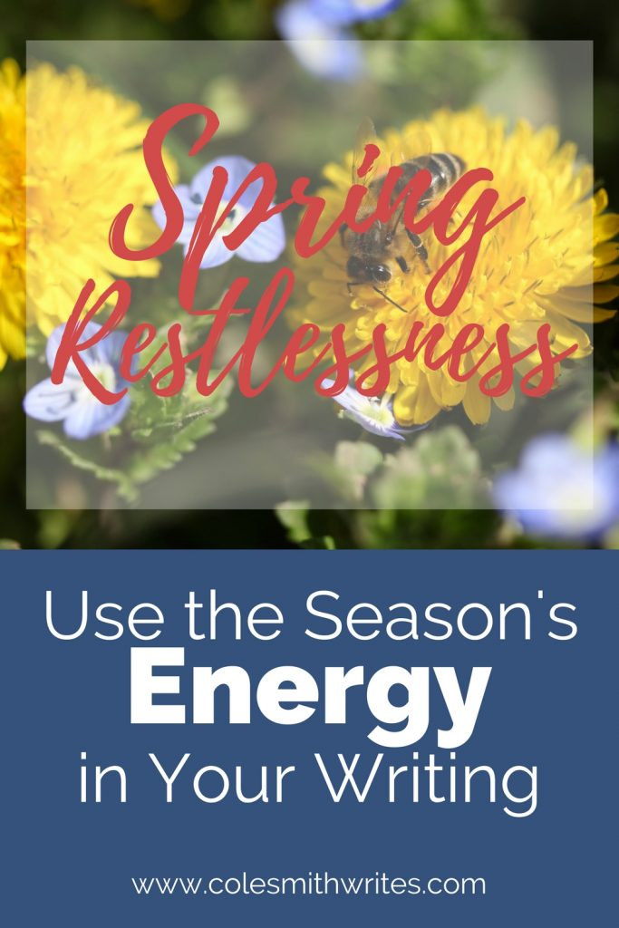 #Productivity. Get more done! Does spring fever have you feeling restless? Don't let its energy go to waste! | creativity | each day