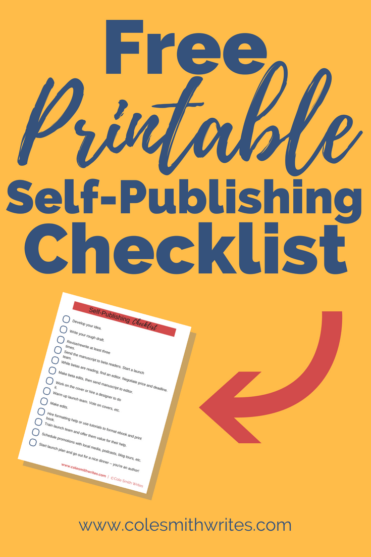 Over 80% of people want to write a book. If that's you, check out this free download, a printable self-publishing checklist. This free resource will help you figure out where to start, and whether self-publishing is the way for you.