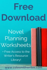 Try these novel planning worksheets for NaNoWriMo or any project | #indieauthors #indiepublishing #authors #readers #planner #novel #amwriting #selfpublishing #writers #tips