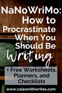 It's NaNoWriMo: Here's how to procrastinate when you should be writing...