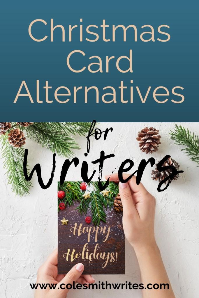 Writers, are you looking for interesting Christmas card alternatives? | #write #screenwriters #authors #readers #timemanagement #minimalism #writingtips #writersunite #writinghumor