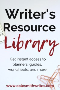 Get instant free access to the writer's resource library: