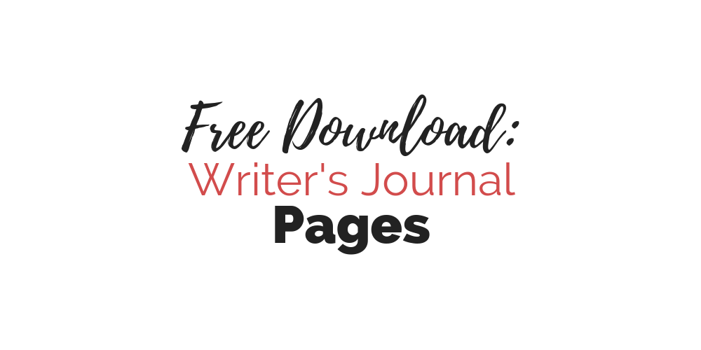 Cover: Free Download-- Writer's Journal Pages   Cole Smith Writes