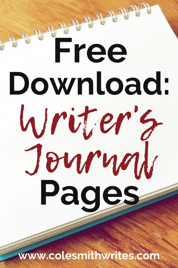 Download free, printable writer's journal pages | #bujo #bulletjournal #indieauthors #indiepublishing #writingtips #fiction #authors #readers #selfpub #selfpublishing #writinghelp #writingadvice #morning #pages