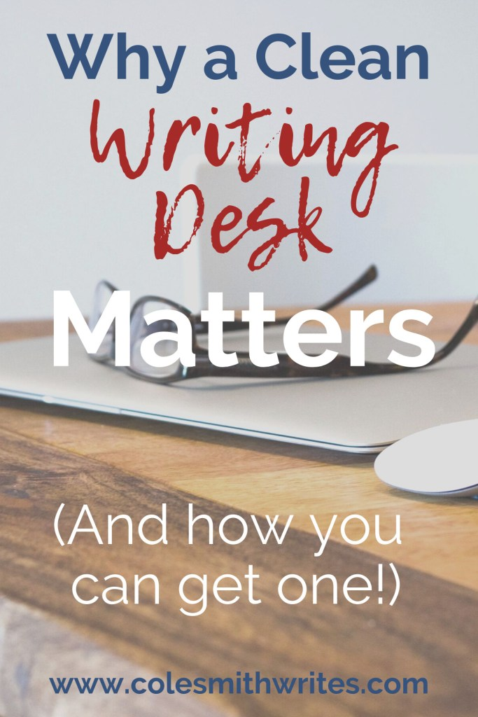 Do you believe a clean writing desk matters? I do... |