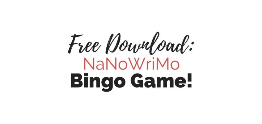 Free Download: NaNoWriMo Bingo Game