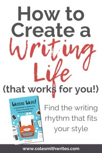 Writers Write Workbook | How to Write Consistently and Love Your Writing Life