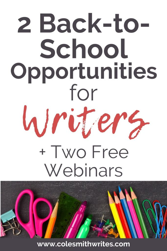 Back-to-School Opportunities for Writers | #fallfoliage