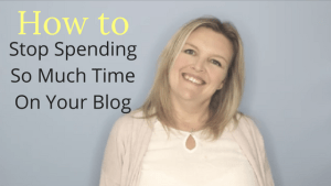 stop spending so much time on your blog