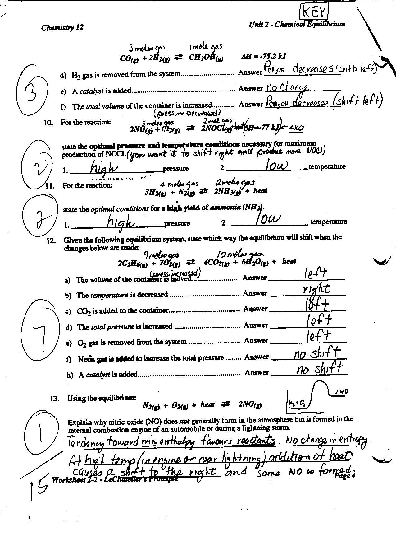 Chapter 2 The Chemistry Of Life Worksheet Answers
