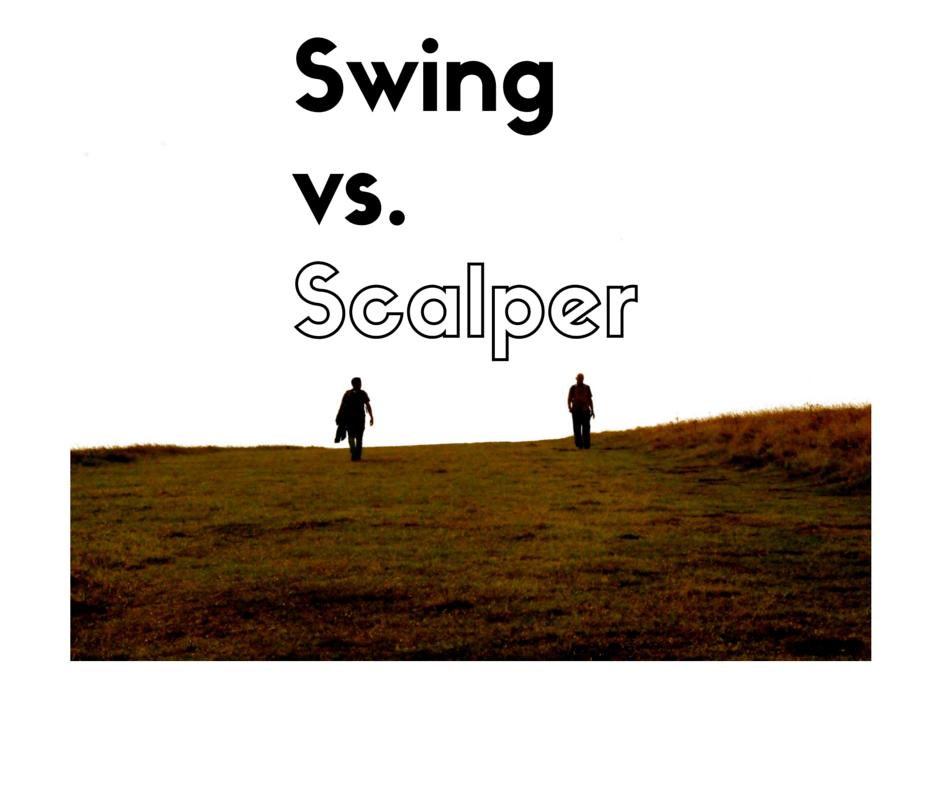 swing trading vs. scalping