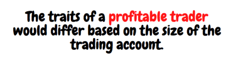 Traits of a profitable trader