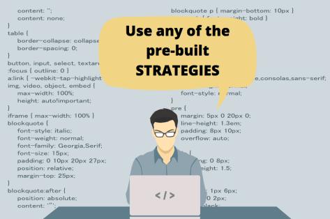 pre-built stock strategies