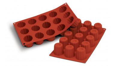 moule silicone 15 mini canneles bordelais