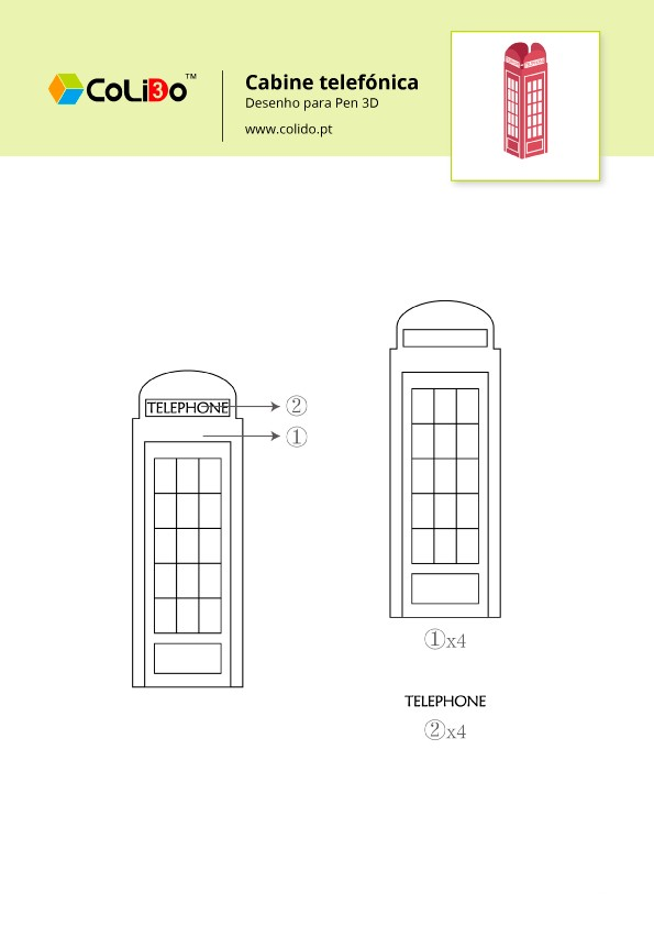 CoLiDo-3d-pen-modelo-cabina-telefonica