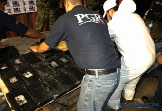 PGR cocaína Manzanillo